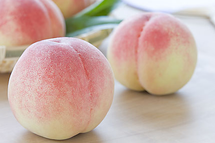 Asian white peach.