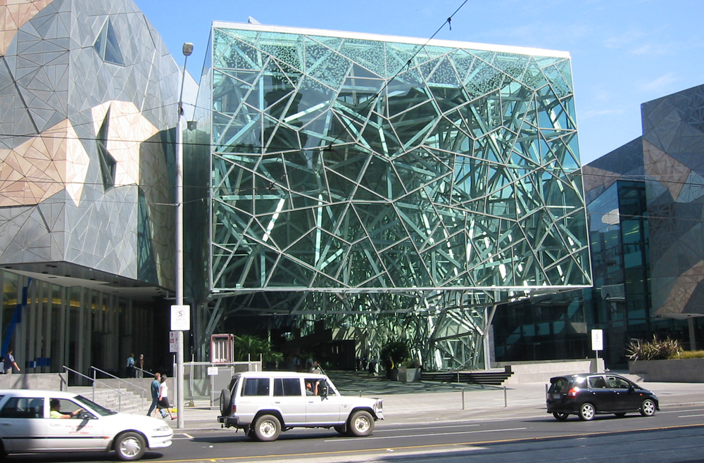 Federation Square North Atrium