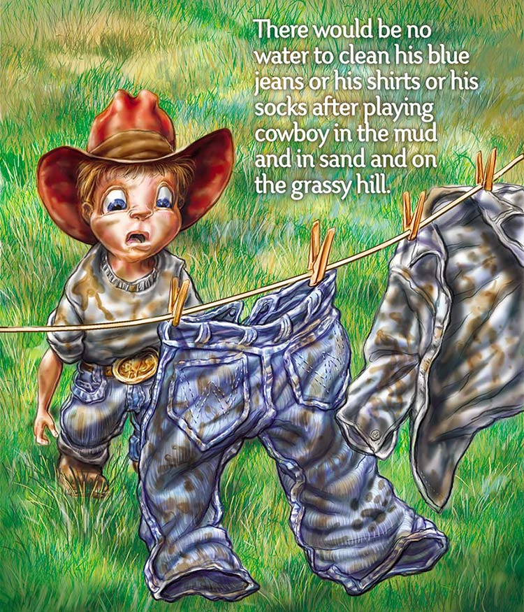 D    itch WItch Jack   Childrens Book  Client :  Ditch Witch  via Fellers Advertising   Medium:  Digital