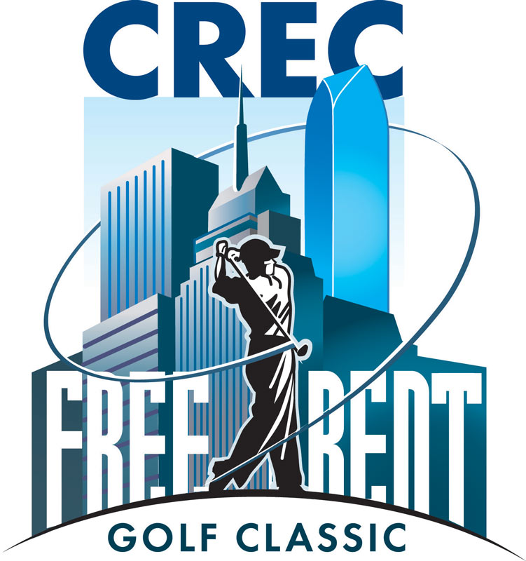Free Rent Golf Classic   Icon  Oklahoma City Commercial Realtors Golf Tournament    Client:   CREC (Commercial Realtors)  via Mindseye Advertising    Medium:    Vector Art (Adobe Illustrator)