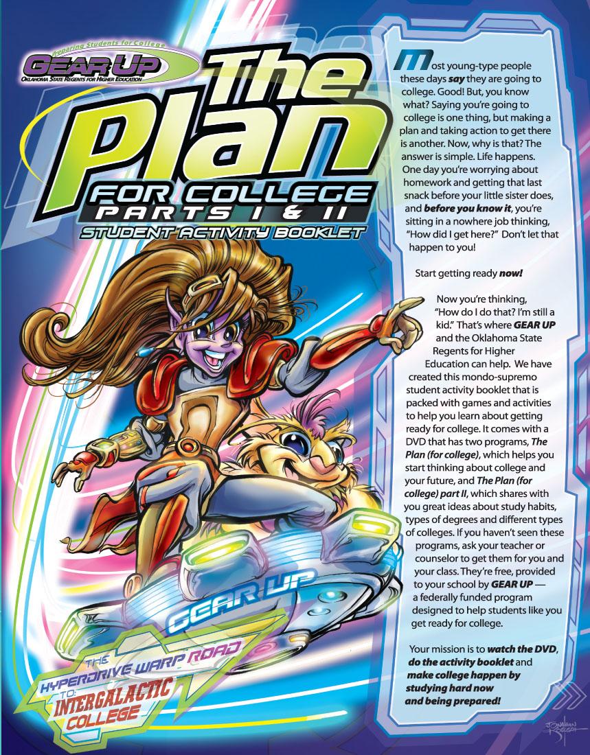 Character Designs + Cover Illustration & Design