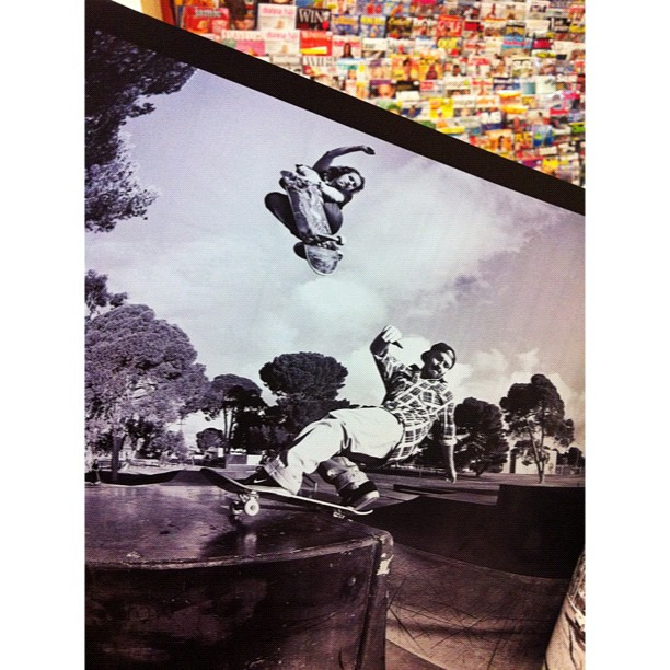 Checked the Skateboarders Journal issue #24. Epic skateboarding here with Jack Fardell & Andrew Currie. Pic by Andrew Peters.  (Taken with  Instagram  at Mag Nation)