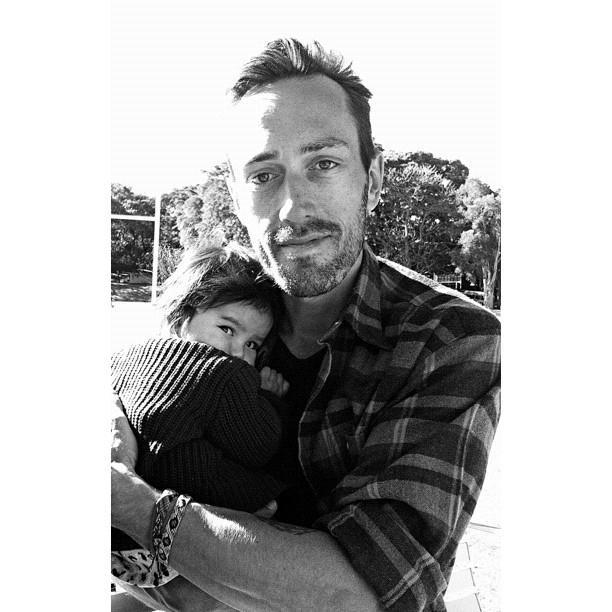 Skylar-Lovelle met dads great ol mate, Teagues today.  (Taken with  Instagram  at Waterloo Skatepark)