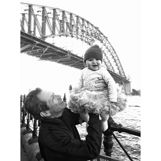 Such a rad day with Granddad  (Taken with  Instagram  at The Rocks Aroma Festival)
