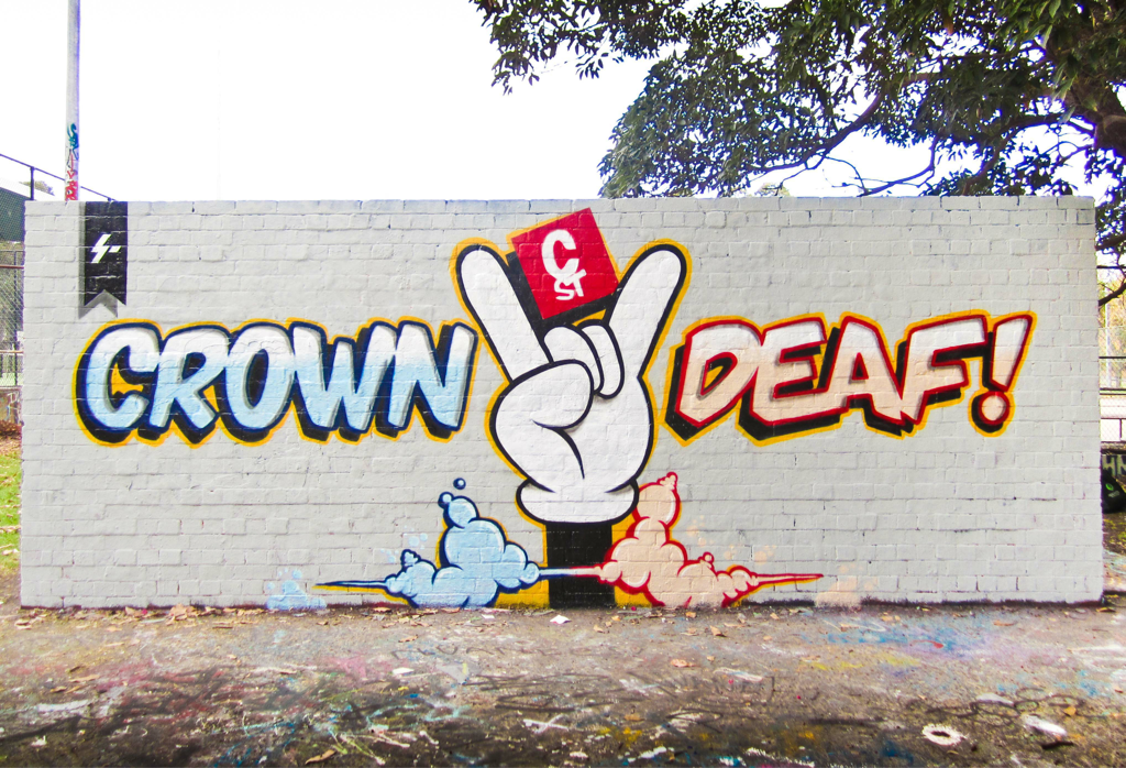 Stoked to paint this on Thursday for Hi-Deaf. Big thx to the Hi-Deaf lads especially good mate Stu for the support, diligence and out right rulingness