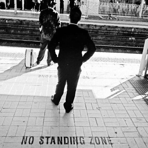 What a rebel ! (Taken with Instagram at Central Station (Platforms 18 & 19))