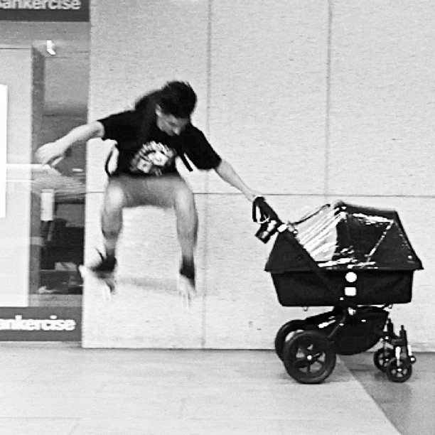 One for the Rad Dads at the annual Rad Dad BBQ. Thinking of y'all. (No baby was used for this stunt. It's all for show) 😁 (Taken with  Instagram  at Syd City)
