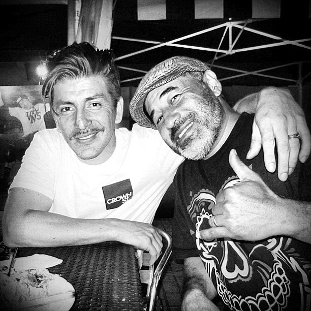 Brothers From The Same Poppa.  (Taken with  Instagram  at 20 Year Half Cab Celebration Party)