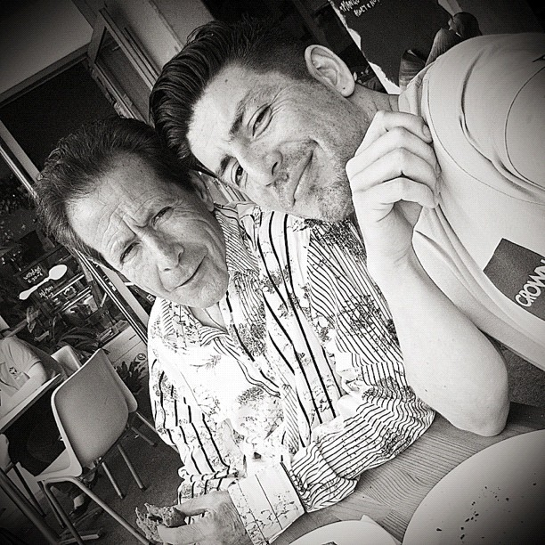 Love Hangin With Dad. (Taken with Instagram at Runcible Spoon)