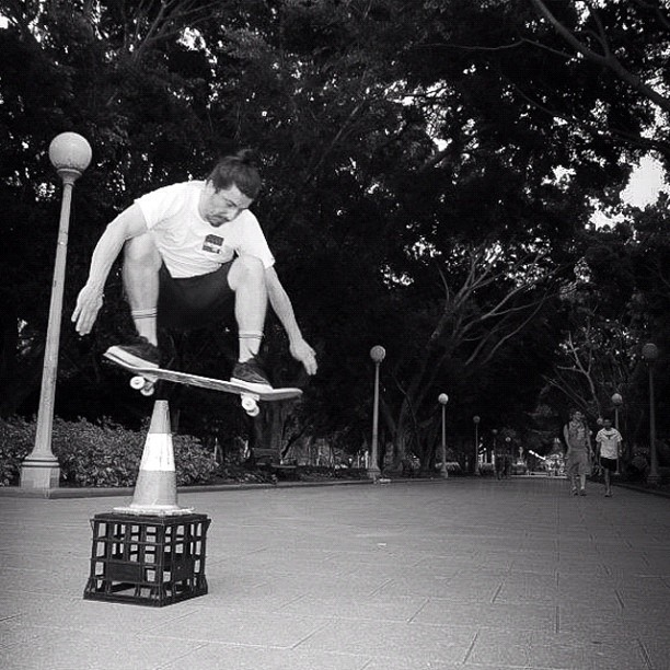 Ollie.  Pic by Kiernan Smith. (Taken with  Instagram  at Hyde Park)