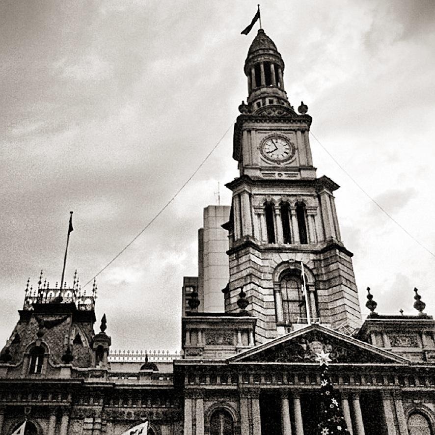 The Sydney Town Hall @ Dusk
