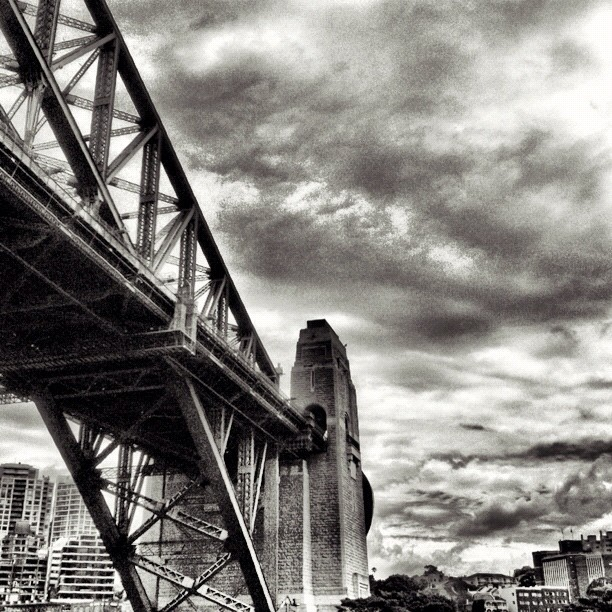 The Bridge (Taken with  Instagram  at Sydney Harbour)
