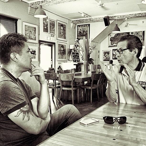 Father To Son (Taken with  Instagram  at Deus Ex Machina)
