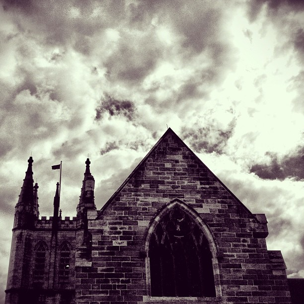 Castle Remnants  (Taken with  Instagram  at Camperdown)