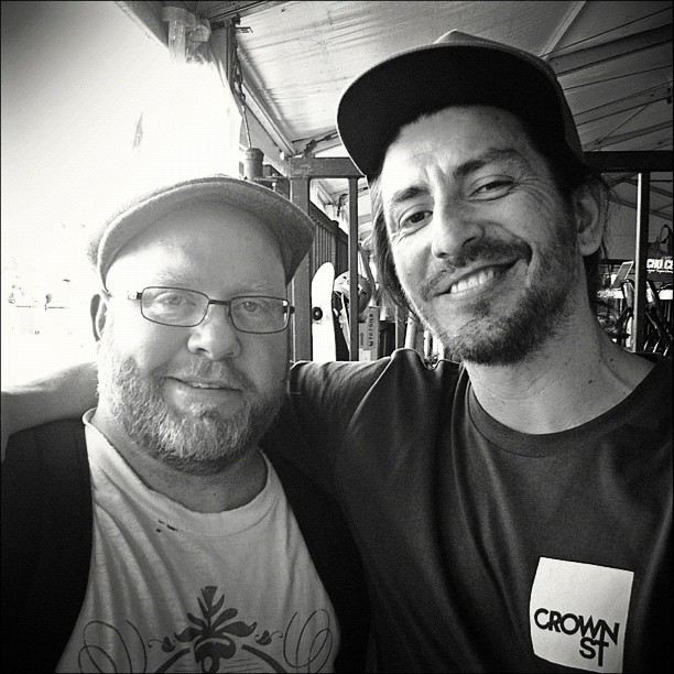 With R.D.C founder Mr Scott. (Taken with Instagram at Outpost, Cockatoo Island)