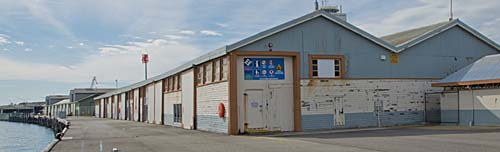 A-Shed Fremantle harbour