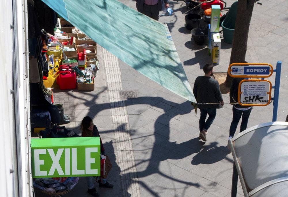 Exile on Athinas st.
