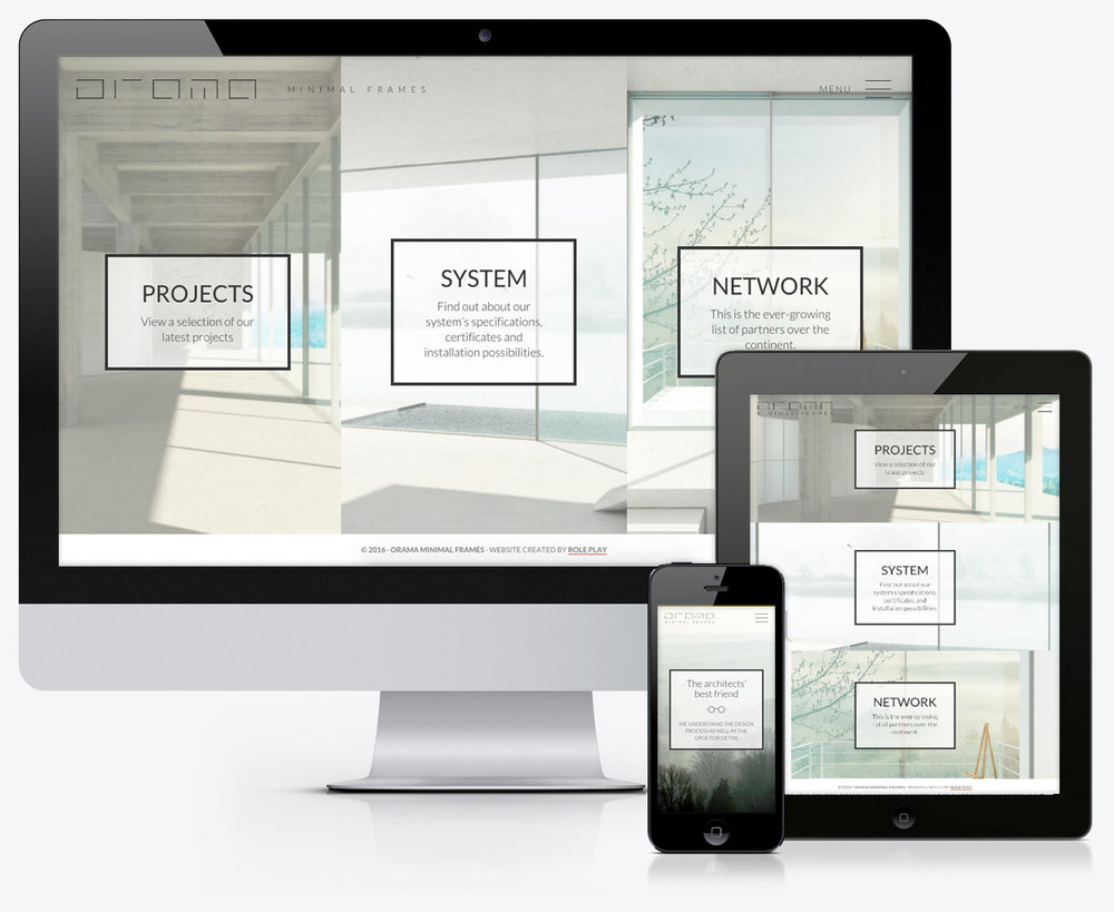 Website We created a responsive platform that is hosting the system specifications as well as a showcase of installed projects.