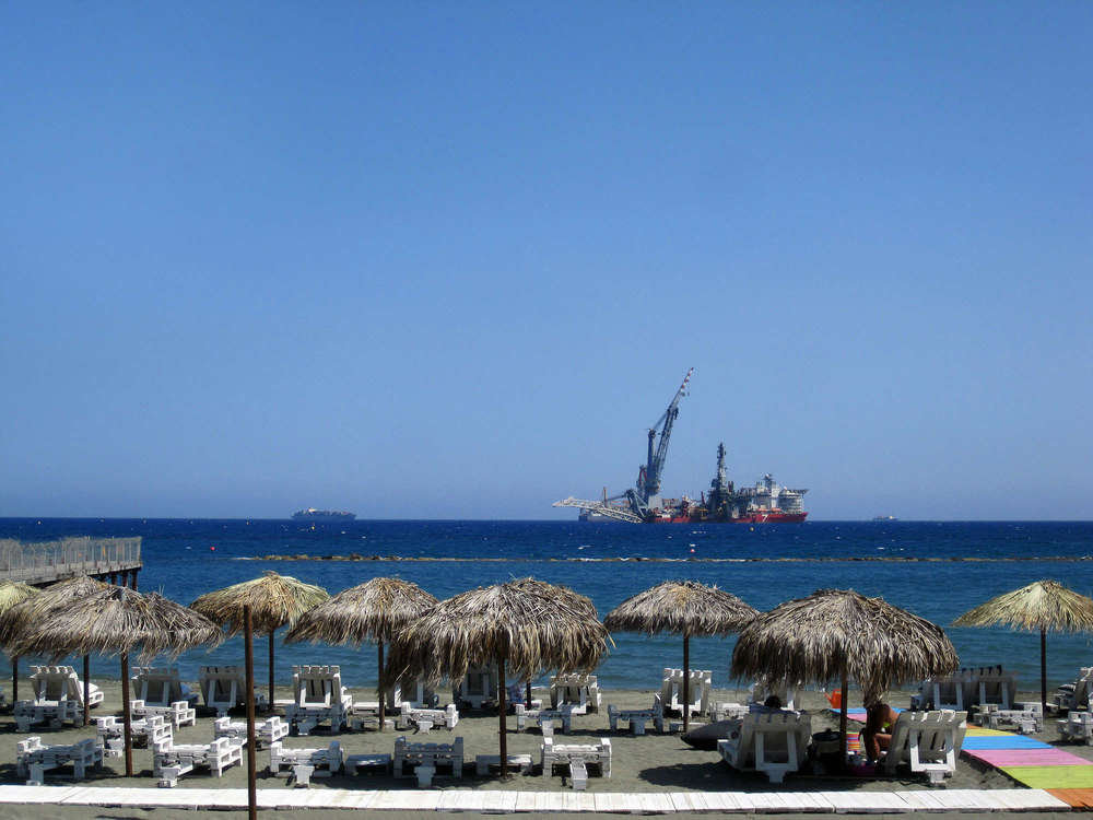 Limassol's waterfront view