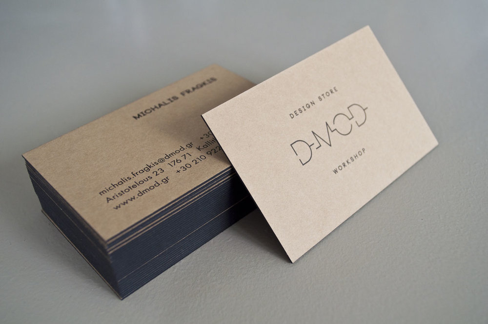 d.Mod business cards
