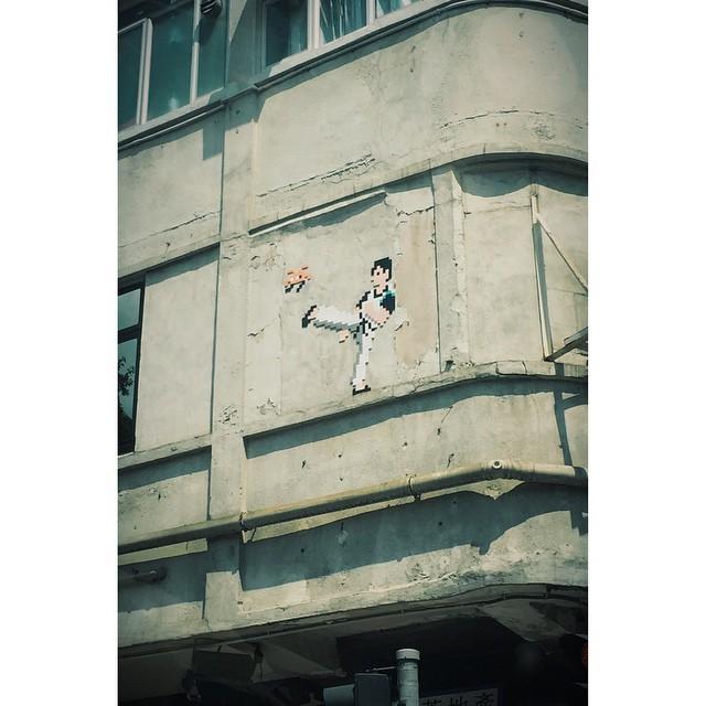 #spaceinvader sighting in the new hood! #streetart #mrbrainwashtaughtmeeverything