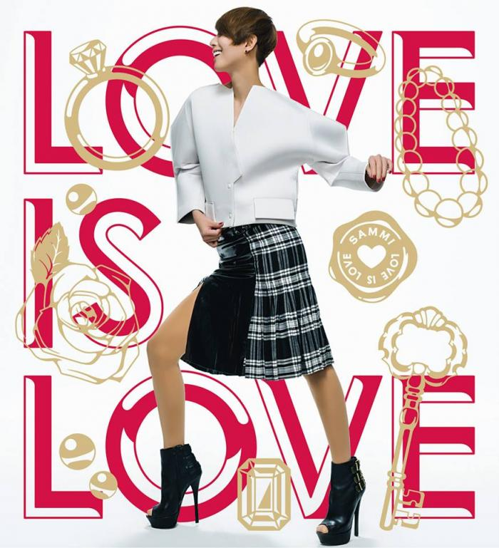 鄭秀文 Sammi Cheng    Love is Love    唱片公司: Media Asia     2 天生一半 (曲、編)