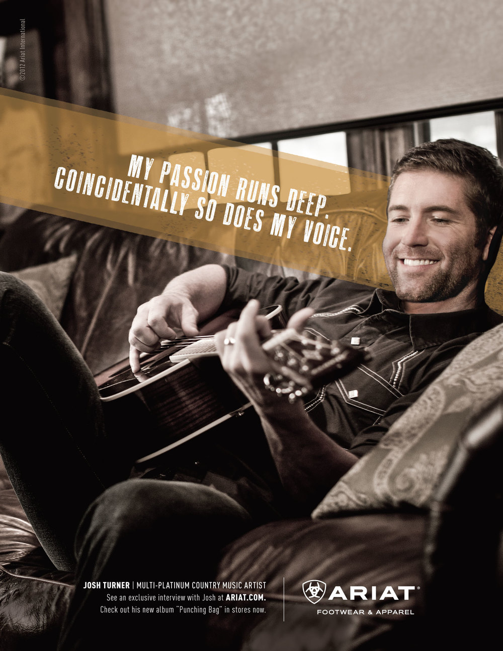 Ariat, Josh Turner