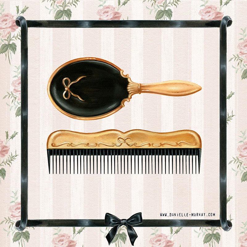Danielle Murray, Made Up Collection - Hair brush