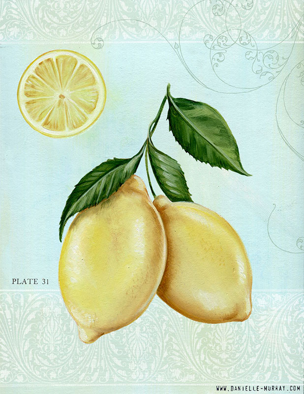 Danielle Murray, Lemon Collection, Plate 1