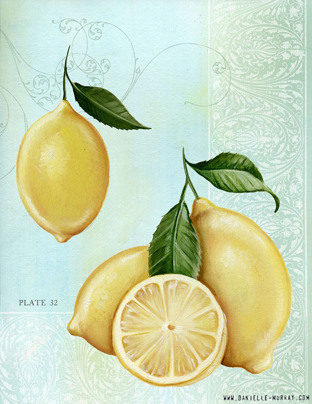 Danielle Murray, Lemon Collection, Plate 2