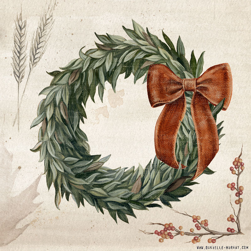 Danielle Murray, Harvest Heirlooms, Wreath