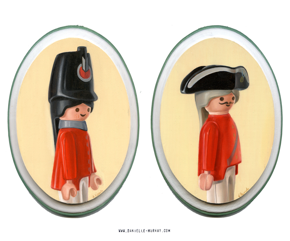 Danielle Murray, HMS Playmobil, Gallery1988