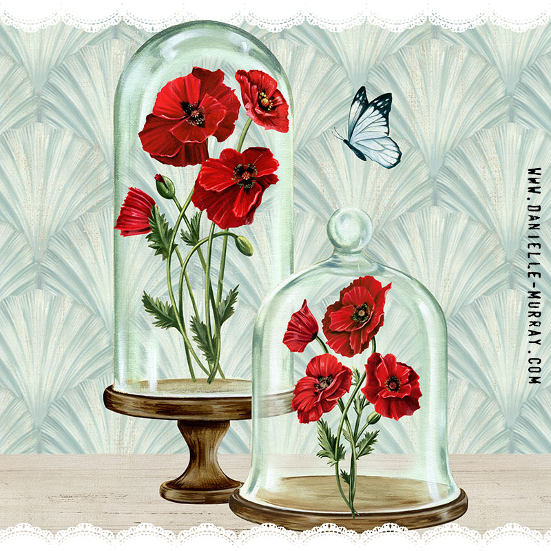 Danielle Murray, Bell Jar Poppies