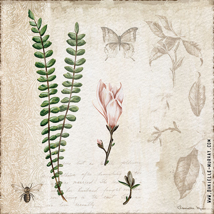 Danielle Murray, Magnolia Botanical Collection, Fern 2
