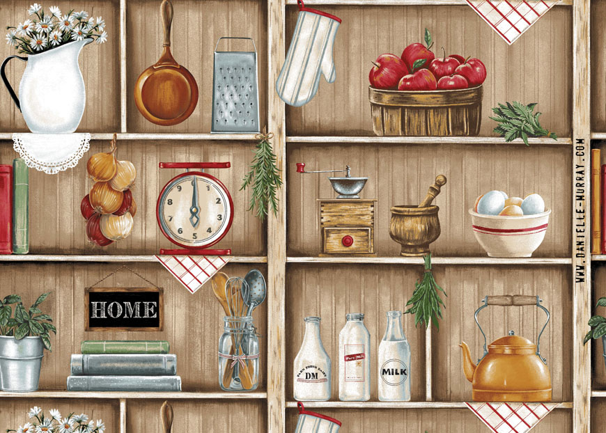 Danielle Murray, Kitchen Shelf Repeat