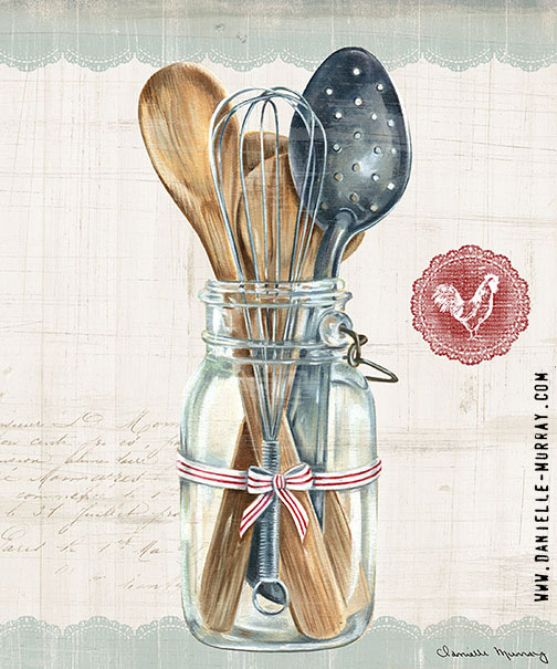 Danielle Murray, Kitchen Finds, Utensils