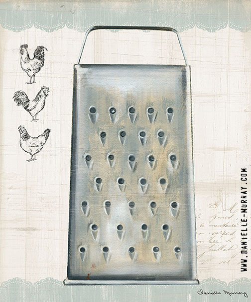 Danielle Murray, Kitchen Finds, Grater