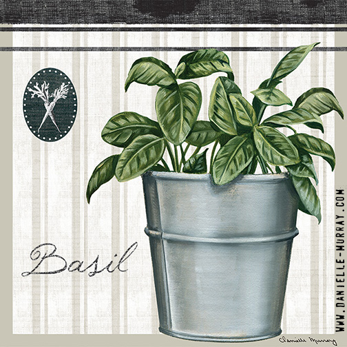 Danielle Murray, To Market, Basil