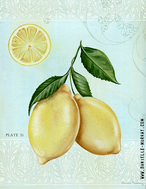 Danielle Murray, Lemon Plate 1