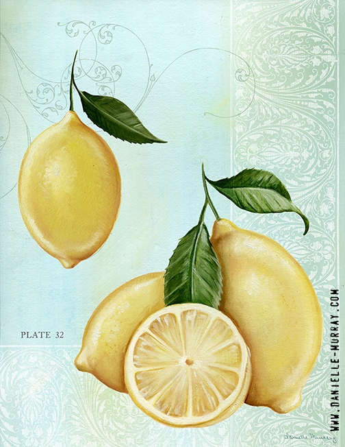 Danielle Murray, Lemon Plate 2