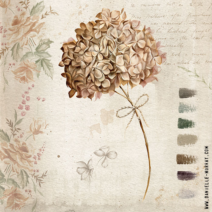 Danielle Murray, Elements of Fall, Hydrangea