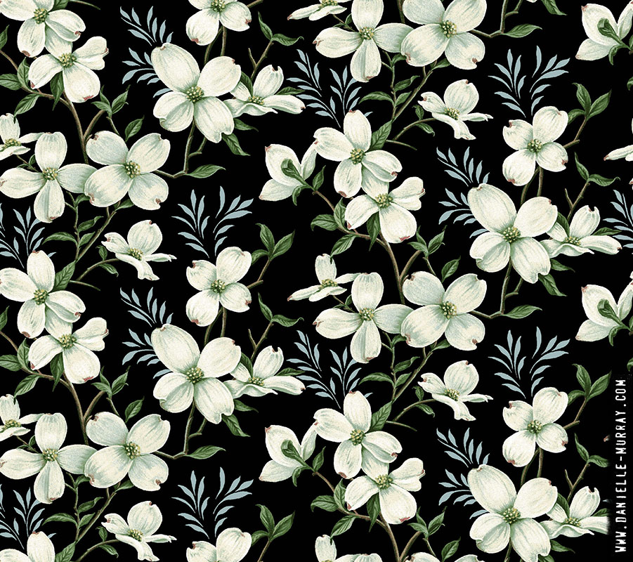 Danielle Murray, Allover Dogwood Dark