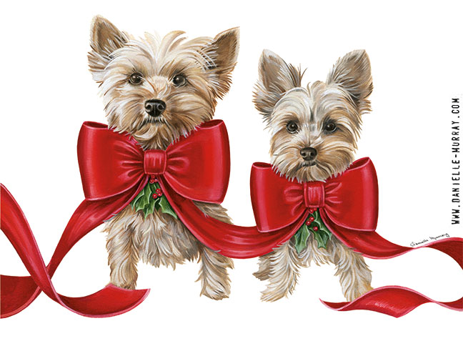 Danielle Murray, Holiday Yorkies