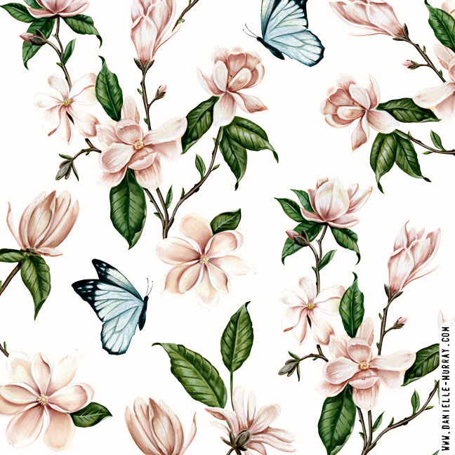 Danielle Murray, Magnolia Botanical Collection, Magnolia Repeat