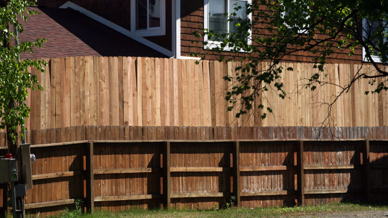 how to build a stile over a fence
