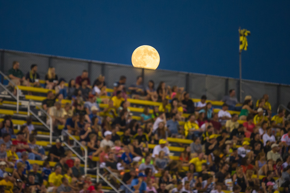 Moon Over the Stands