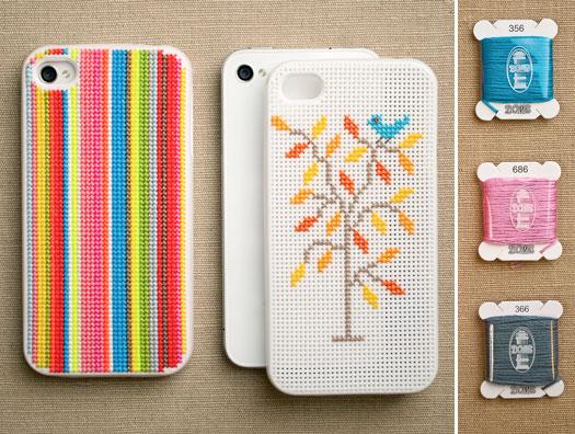 Diy Iphone Cross Stitch Case Kit Charming Ink