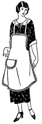 Apron Lady