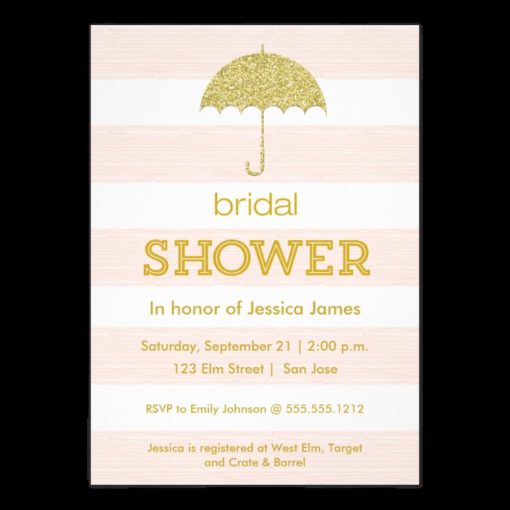 Glitter Umbrella Bridal Shower    Also in   Blue