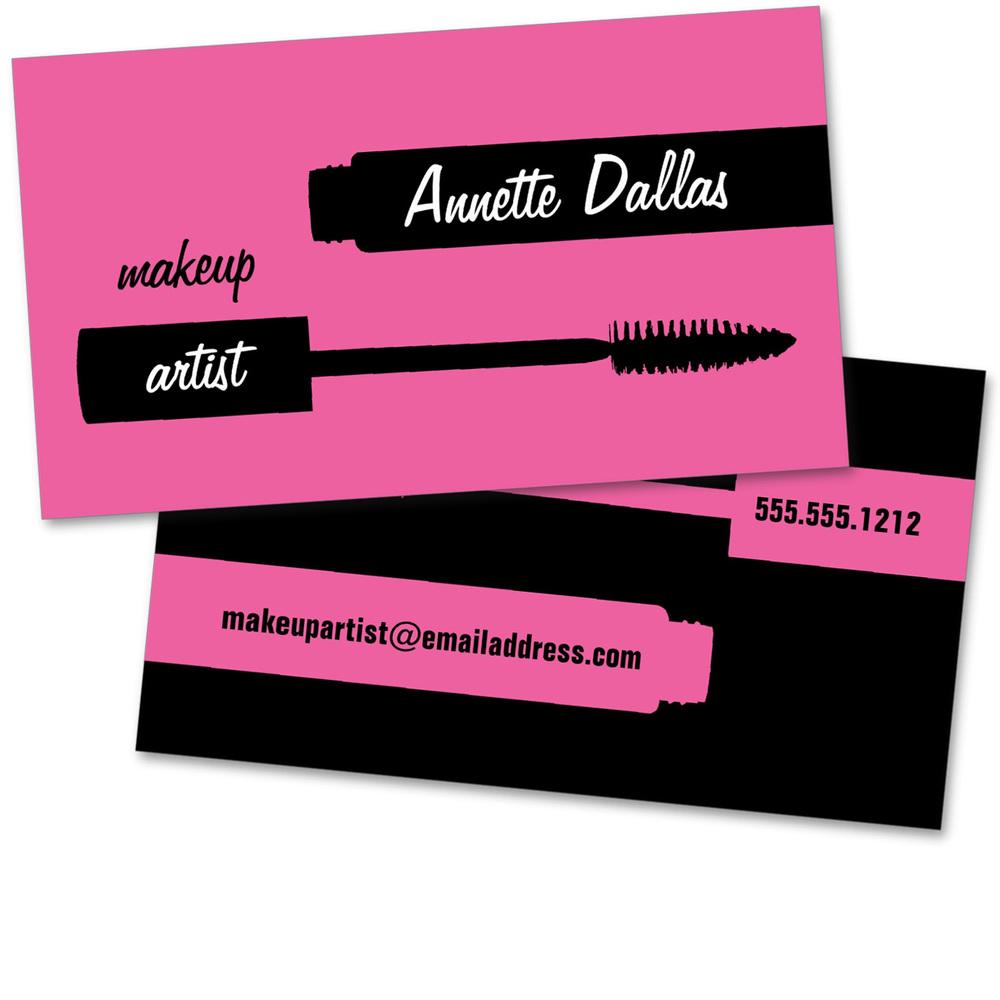 Mascara stylist card